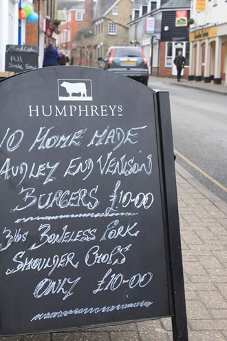 Our meat - Humphreys Butchers